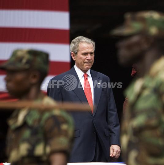 ブッシュ大統領、アフリカ5か国歴訪を終了