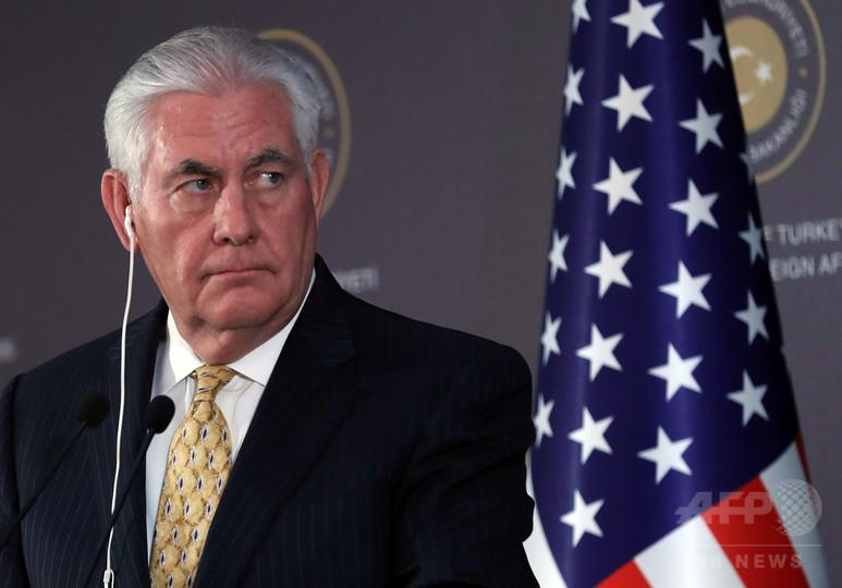 北朝鮮に必要なのは「ニンジンではなくむち」 ティラーソン米国務長官