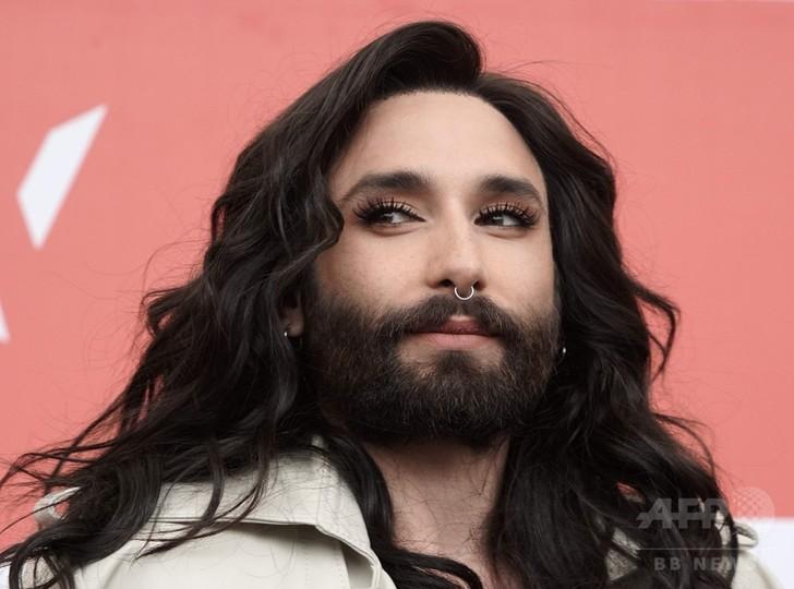 「ひげの歌姫」がHIV公表 C・ウルストさん、元恋人から脅迫受け