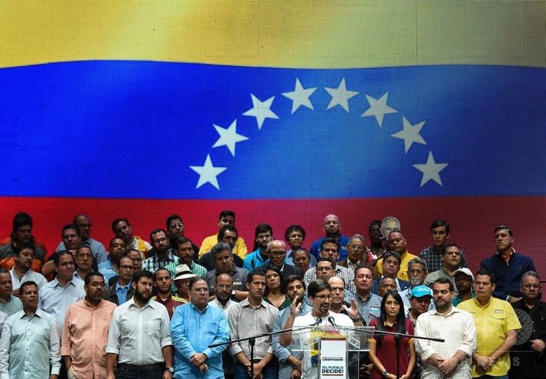 トランプ大統領、ベネズエラに警告 改憲するなら「経済的措置」