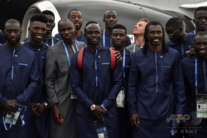 セネガル代表がロシア到着、W杯で日本と同組