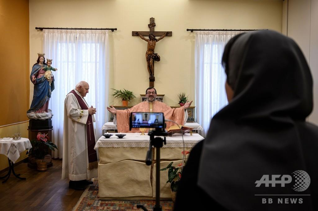 新型コロナで聖職者67人死亡、イタリア