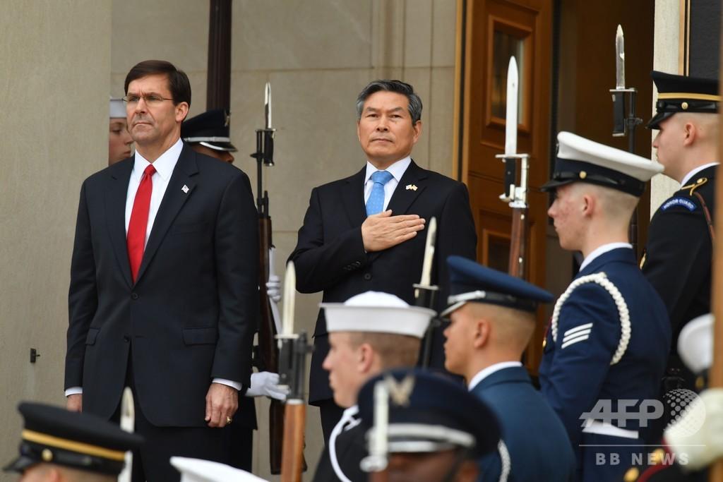 米韓両軍、春の合同軍事演習の縮小検討 新型コロナウイルスを考慮