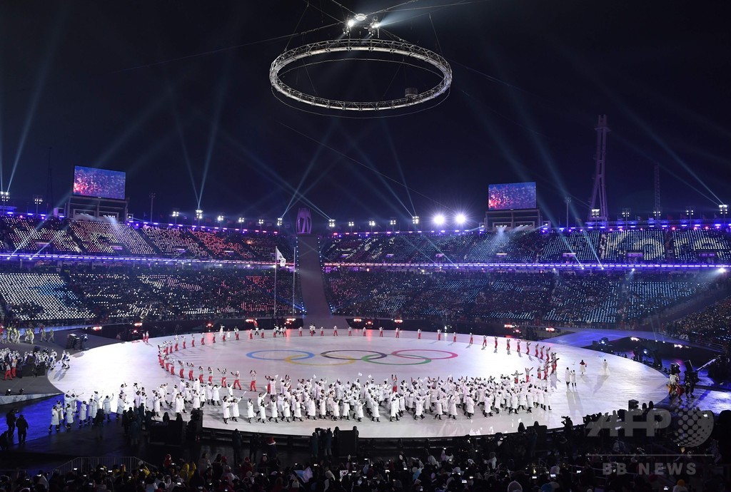 平昌冬季五輪、開会式のさなかにネットがダウン 当局が調査