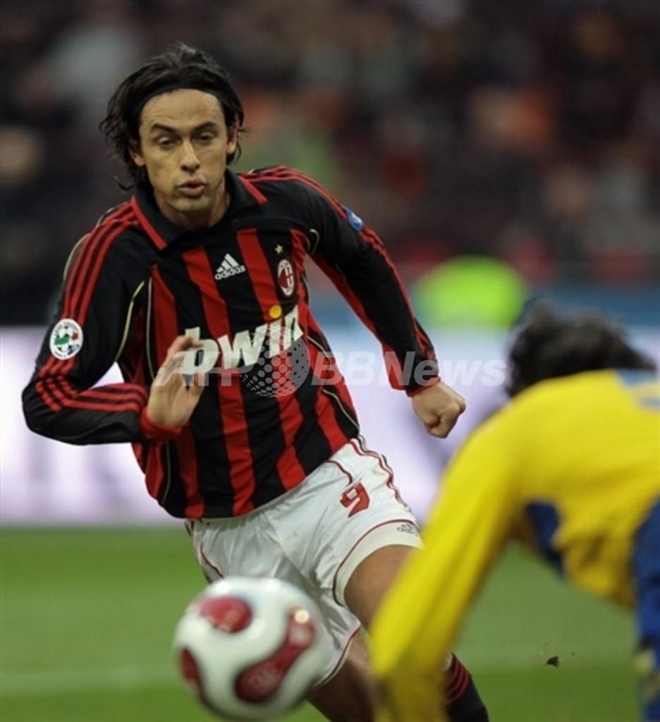<サッカー 欧州選手権2008・予選>インザーギ イタリア代表に復帰