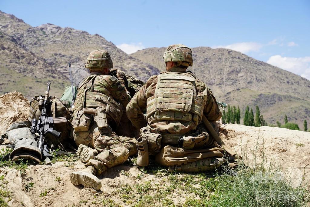 アフガン軍兵士が駐留米軍に発砲、米兵2人死亡 6人負傷