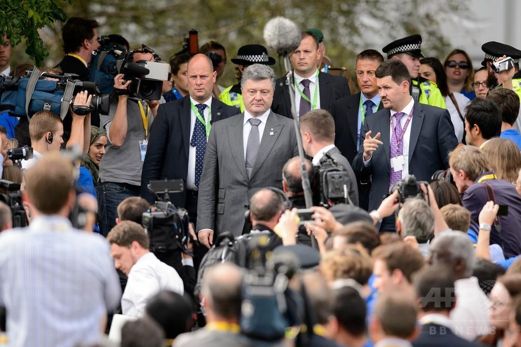 ウクライナと親ロシア派が停戦合意、欧米は新たな対露制裁を検討