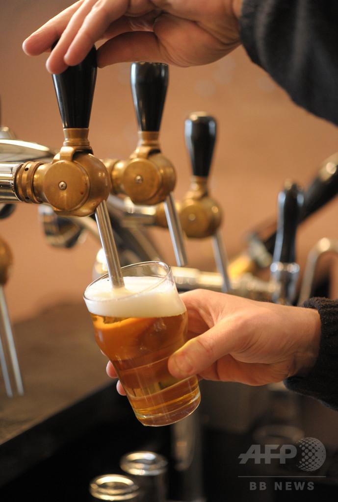 飲酒によるがん死者、2012年に36万人 国連機関調査