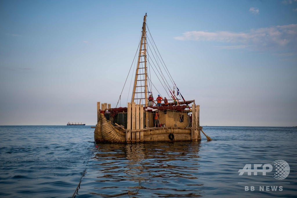 古代船で黒海からエジプトへ、数千年前の航海を再現