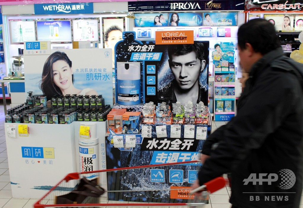 脂ぎった顔はイヤ? 中国の男性向けコスメ人気商品はBBクリームに眉ペンシル