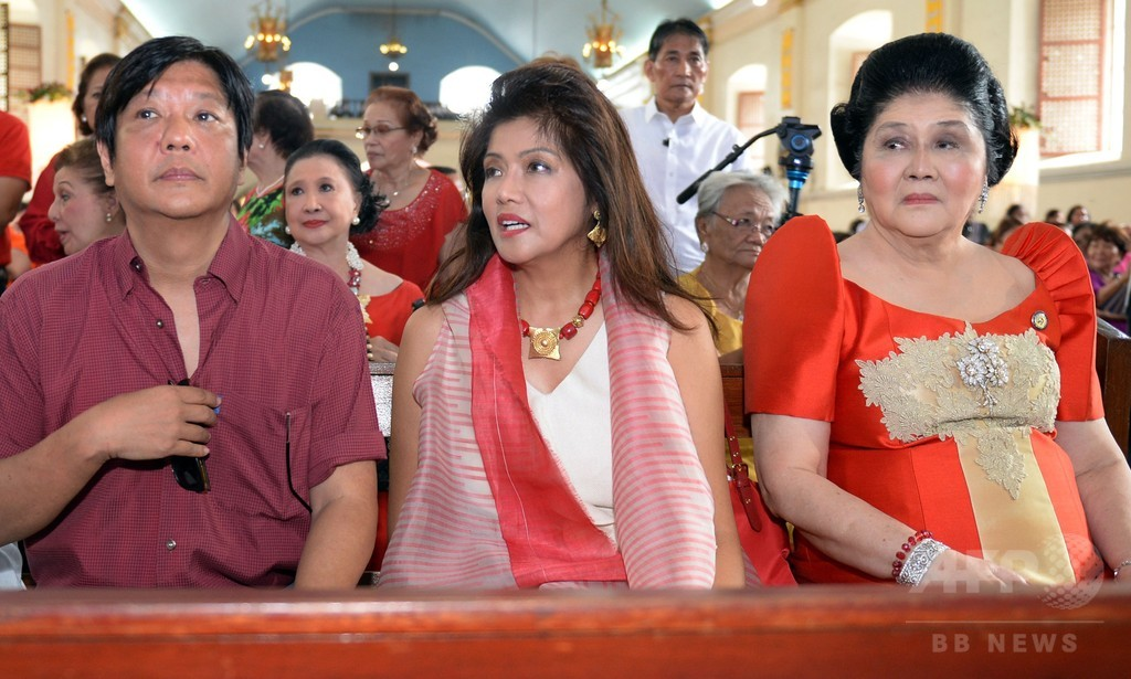 故マルコス元大統領の息子、来年のフィリピン大統領選出馬を示唆