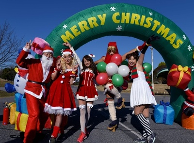 病気と闘う子どもたちにクリスマスプレゼント「東京サンタラン」
