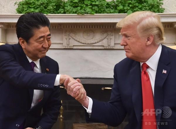 米朝会談は「準備万端」 トランプ氏、安倍首相と会談