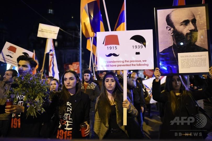 アルメニア人虐殺「ドイツにも責任」 独大統領、歴史の罪に言及