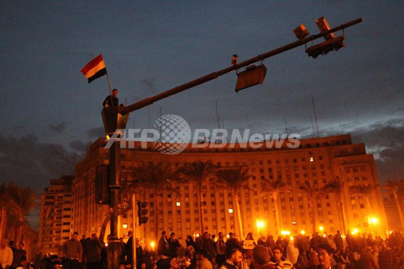 エジプトで「百万人の行進」呼びかけ、無期限ゼネストも