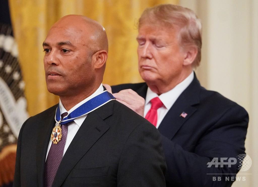 元ヤンキースのリベラ氏に大統領自由勲章、MLB史上最高の救援投手