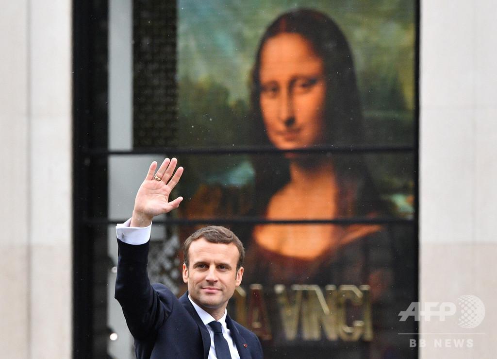 「モナリザを仏から取り戻すべき」伊副首相、冗談飛ばす