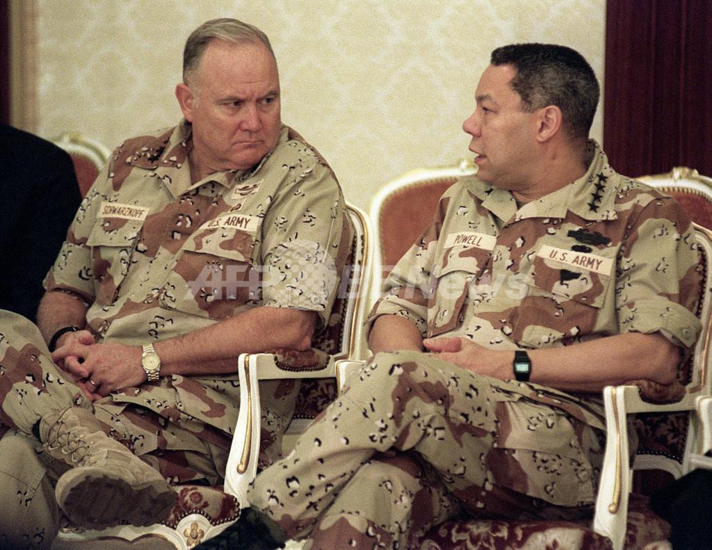 シュワルツコフ元米軍司令官が死去 78歳 「砂漠の嵐作戦」を指揮