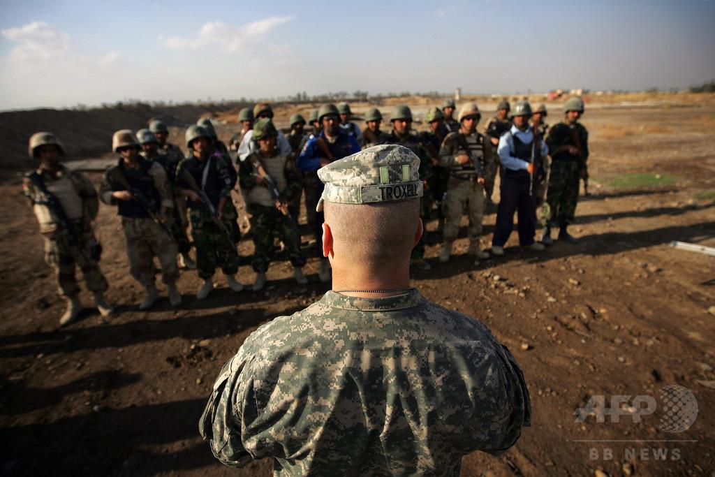「降伏せよ、さもなくば顔面を撃つ」 米陸軍最上級曹長がISに警告