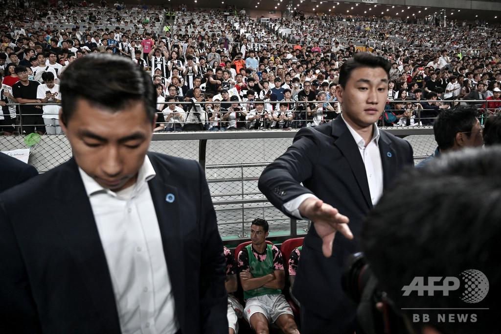 ロナウド欠場騒動、韓国警察が試合の主催者を家宅捜索