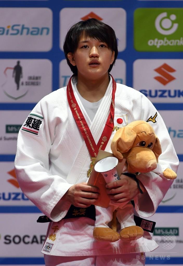 新井が女子70キロ級で金、梅木は銀で連覇ならず 世界柔道