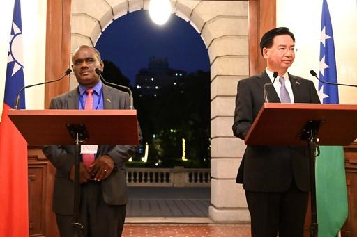 台湾、ソロモン諸島との国交断絶を発表