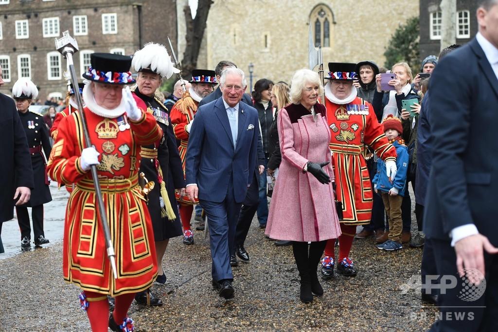 英皇太子が新型ウイルス陽性、女王は体調良好 王室発表