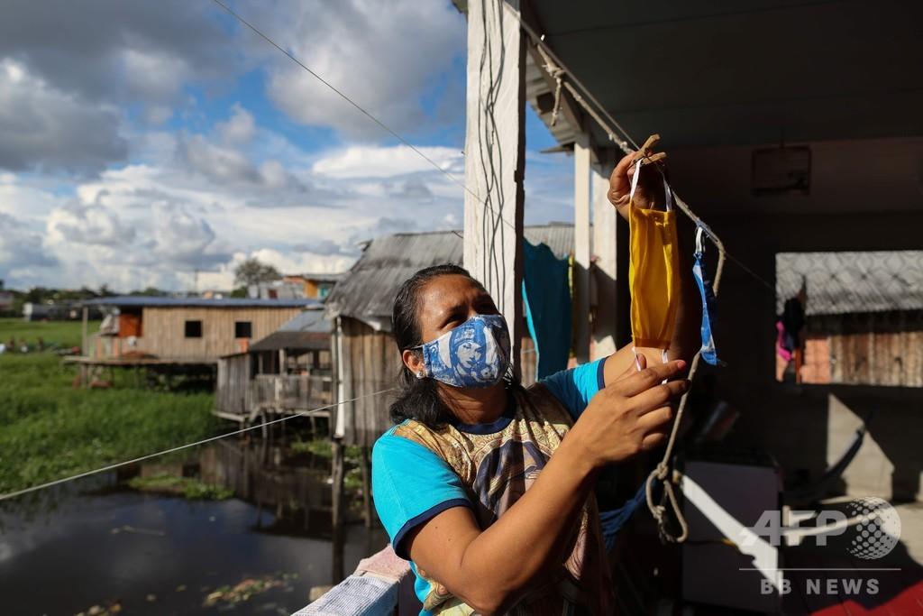世界の新型コロナウイルス死者、35万人超える AFP集計