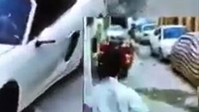 動画:人気女性インスタグラマー、運転中に銃撃され死亡 防犯カメラの映像 イラク