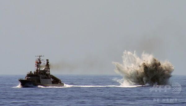 台湾海軍が対潜水艦演習、過去25年で最大規模 中国の侵攻想定