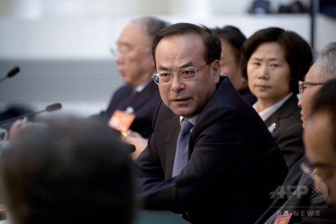 中国検察、重慶市元トップを収賄の罪で起訴 かつては習主席の後継者