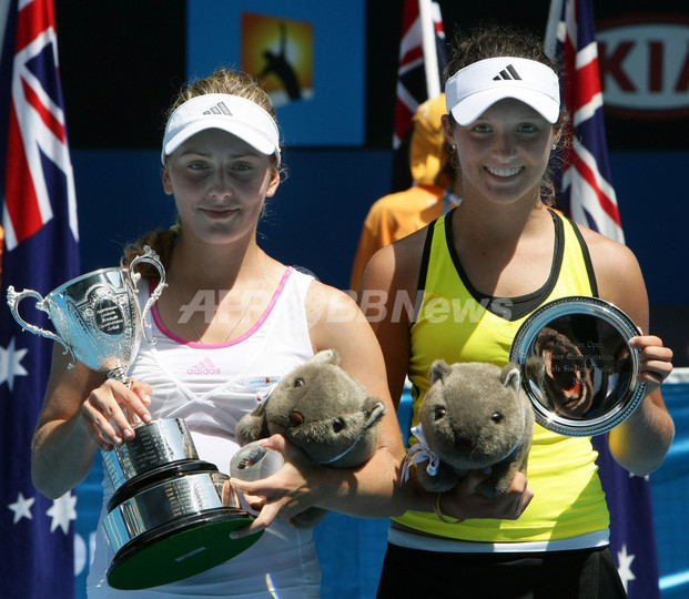 ペルバク ジュニア女子シングルスで優勝、全豪オープン