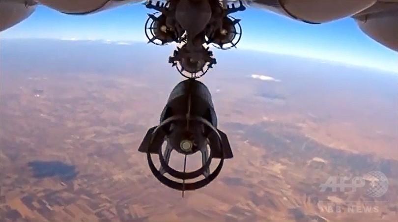 ロシア軍機、シリアで63の標的を空爆