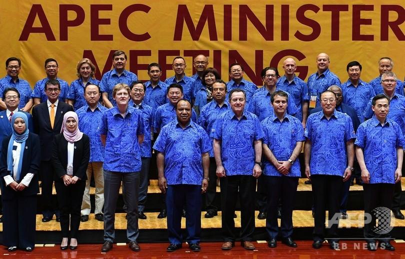 緊張高まるAPEC、中国代表団がパプア外相の執務室に「乱入」試みる