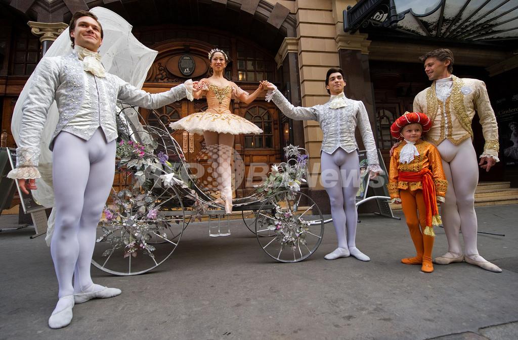 英名門バレエ団が60周年公演、高橋絵里奈が「シンデレラ」PR