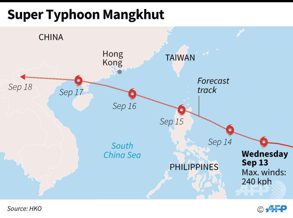 超大型の台風22号、今週末にもフィリピン直撃