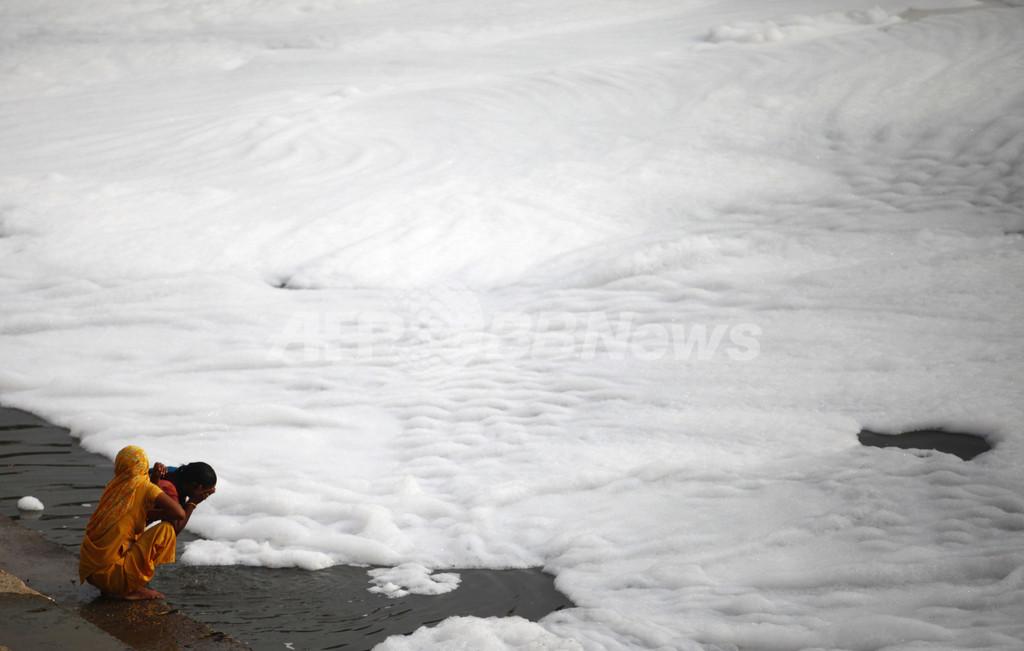 ガンジス川最大の支流、汚染で「死んだも同然」に