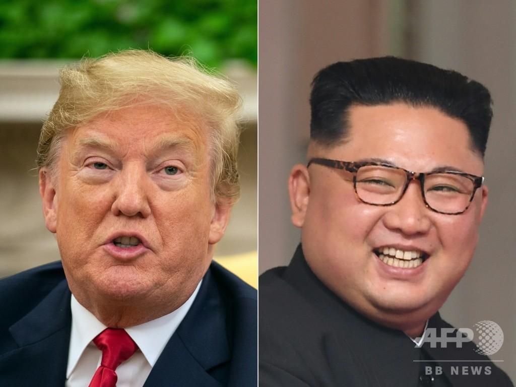 トランプ氏「北朝鮮はすぐ経済大国に」 首脳会談へ25日出発