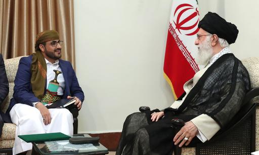 イラン最高指導者がイエメンのフーシ派幹部と会談、改めて支持を表明