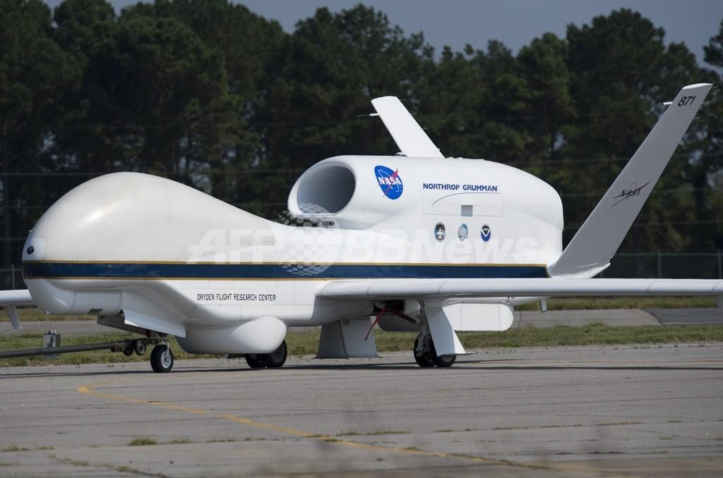 無人機でハリケーンを「偵察」、NASAのHS3ミッション