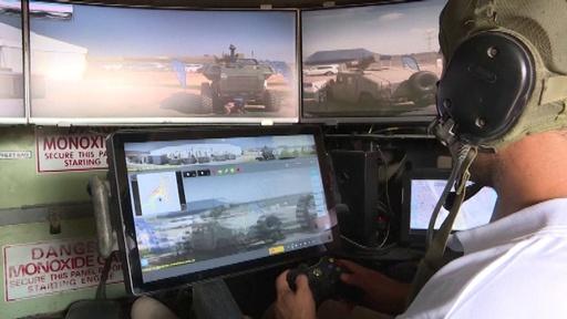 動画:まるでゲーム? 「未来の戦車」イスラエルが試作機を公開