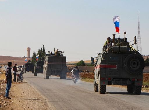 ロ軍、シリア・トルコ国境で巡視開始 クルド自治の夢遠のく