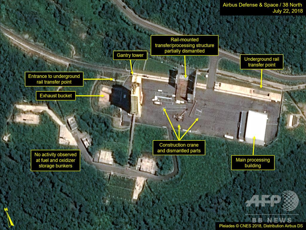 北朝鮮が「非常に重要な実験」、西海衛星発射場で KCNA