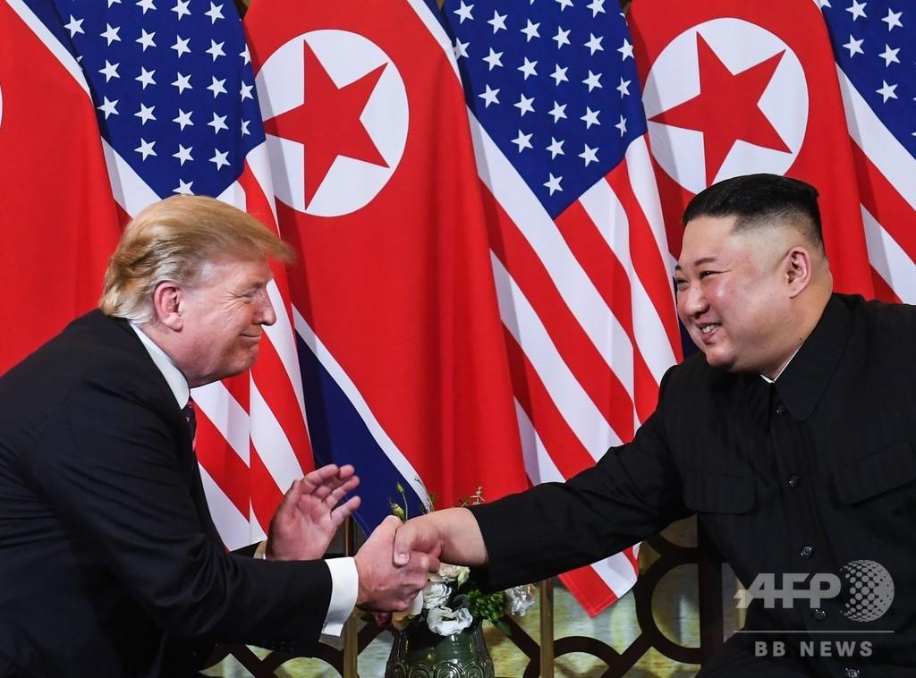 訪韓のトランプ大統領、南北隔てる非武装地帯へ 金委員長との面会なるか