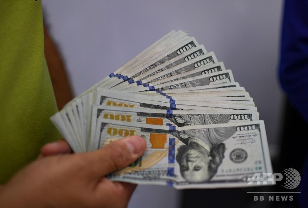 米FRB、アジアから戻ったドル紙幣を隔離 新型コロナウイルス対策で