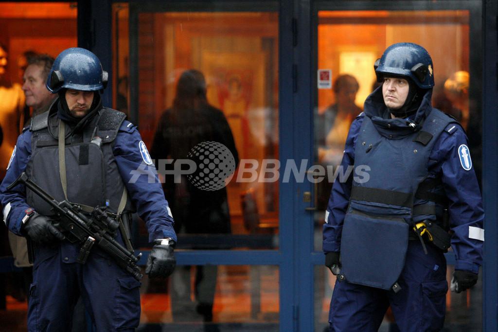 フィンランドの学校で発砲事件、8人死亡