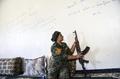 元IS性奴隷の女性戦闘員、「復讐のため」ラッカ奪還作戦に参加