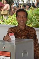 インドネシア大統領選、両陣営が勝利宣言