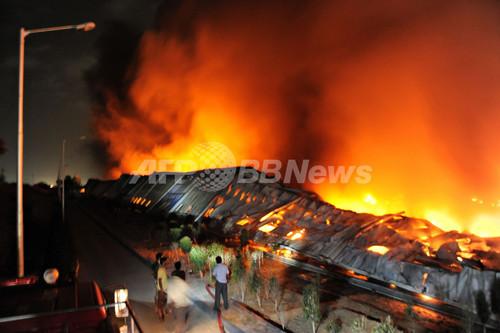 インドの日立エアコン工場で大規模火災