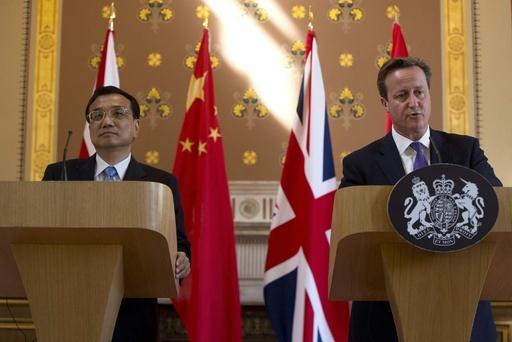 中国は「落ち目の」英国抜き去った、国営紙が社説